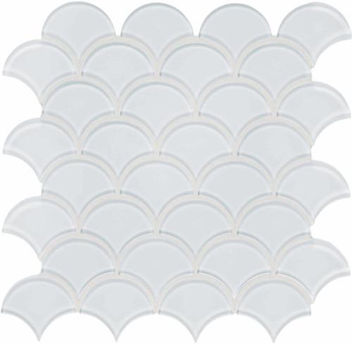 Element Ice Scallop Glass Mosaics (35-106)