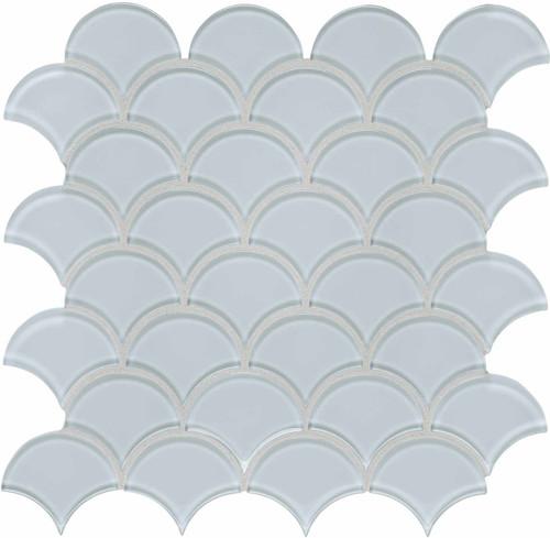 Element Skylight Scallop Glass Mosaics (35-113)