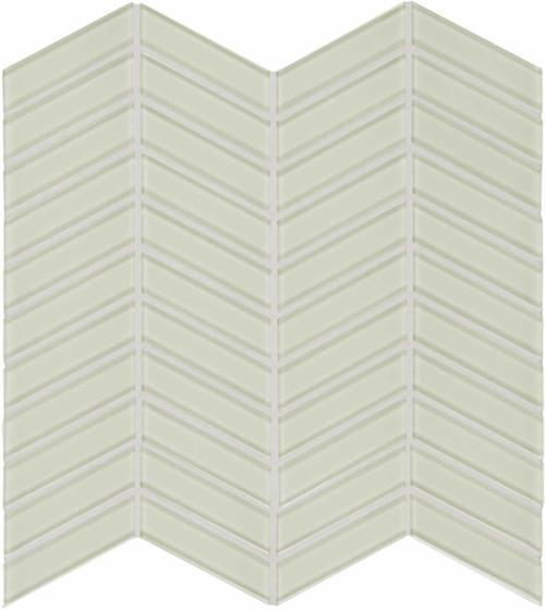 Element Sand Chevron Glass Mosaics (35-126)
