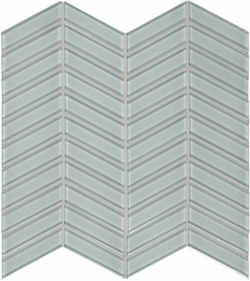 Element Cloud Chevron Glass Mosaics (35-127)