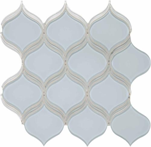 Element Skylight Arabesque Glass Mosaic 12.17 x 11.46 Sheet (35-141)