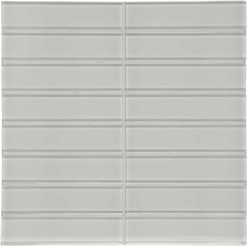"Element Mist Stacked Glass Mosaics 1.5"" x 6"" (35-115)"