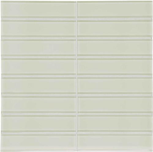 "Element Sand Stacked Glass Mosaics 1.5"" x 6"" (35-118)"