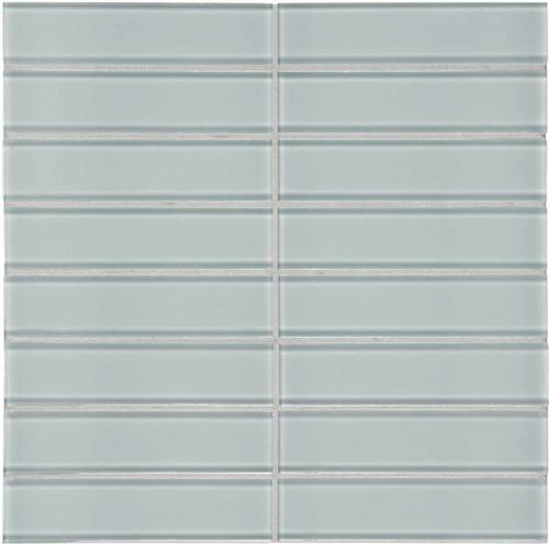 "Element Cloud Stacked Glass Mosaics 1.5"" x 6"" (35-119)"