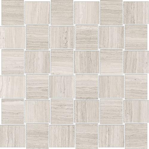 Mayfair Strada Ash 2x2 HD Basketweave Porcelain Mosaics (69-960)