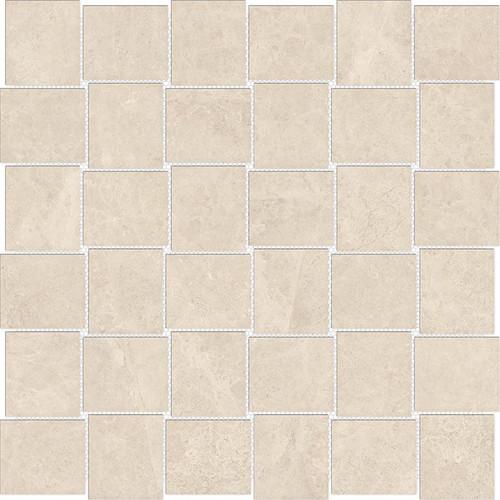 Mayfair Allure Ivory 2x2 HD Basketweave Polished Porcelain Mosaics (69-908)