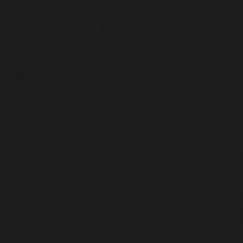 CC Mosaics - Matte Black 1x1 Squares Mosaic 12x12 (UFCC131-12M)