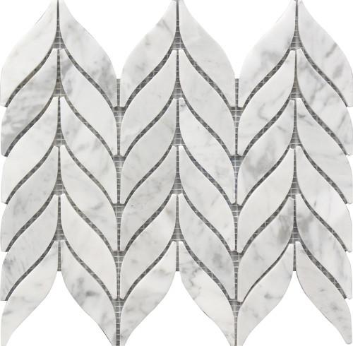 Spike Marble Mosaic 10x12 (USTMSPKE005)