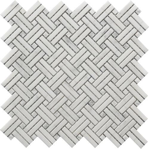 Crossed Basket Weave Mosaic 12x12 (USTMCBWI003)