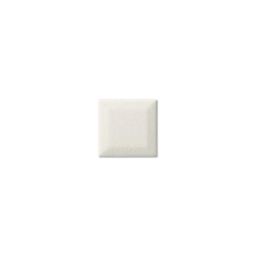 Hampton White Beveled Double Glazed Edge 3x3 (ADXADHWH933)