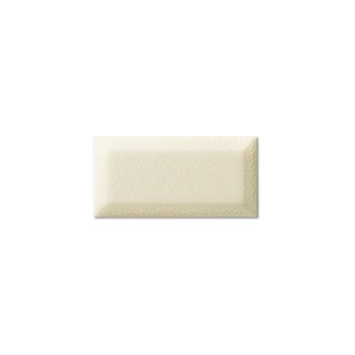 """Hampton Bone 3x6 Beveled Glazed Edge 6"""" Side (ADXADHBQ905)"""