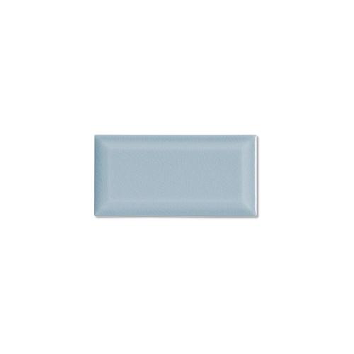 "Hampton Stellar Blue 3x6 Beveled Glazed Edge 6"" Side (ADXADHSB905)"