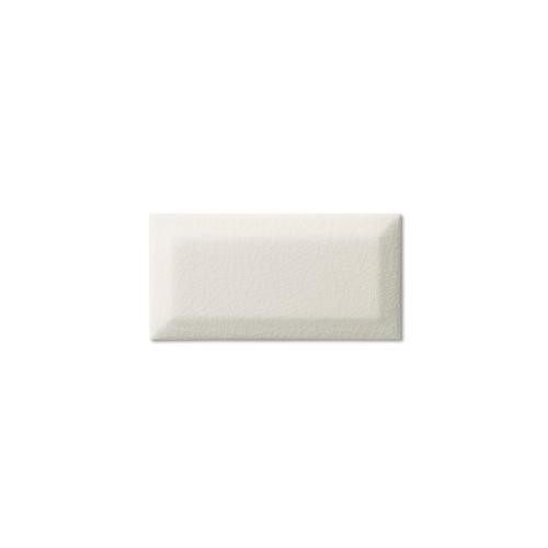 "Hampton White 3x6 Beveled Glazed Edge 6"" Side (ADXADHWH905)"