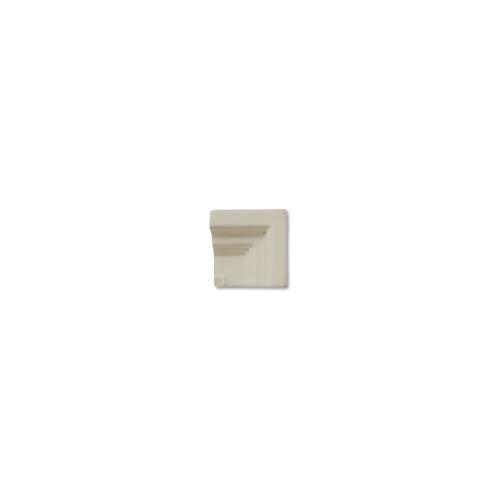 Hampton Cadet Gray Frame Corner for 2x8 Chair Molding (ADXADHCG303)