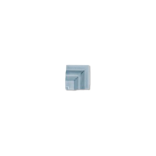 Hampton Stellar Blue Frame Corner for 2x8 Chair Molding (ADXADHSB303)
