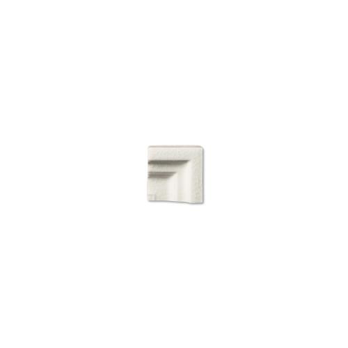 Hampton White Frame Corner for 2x8 Chair Molding (ADXADHWH303)
