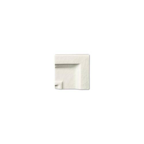 Hampton White Crown Molding Frame Corner (ADXADHWH306)
