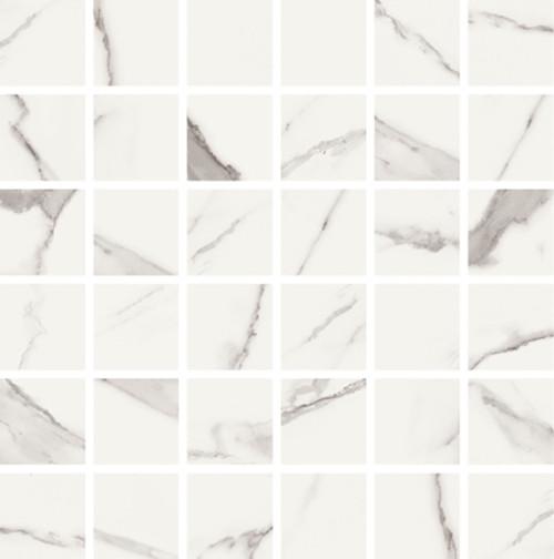 Statuario High Honed Finish 2x2 Mosaic 11.8x11.8 (VSTAT22M)