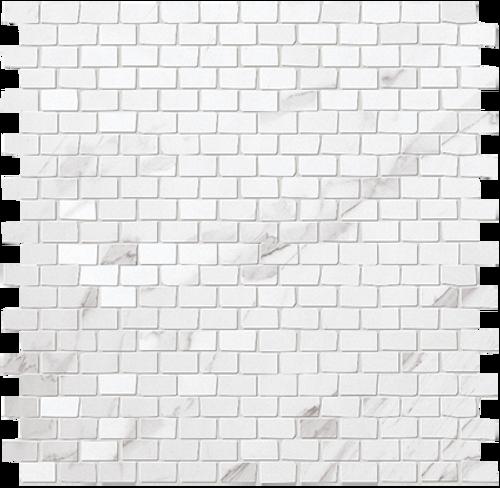 Roma Statuario Brick Mosaic 1/2x7/8 (ROSTMOSBRICK)