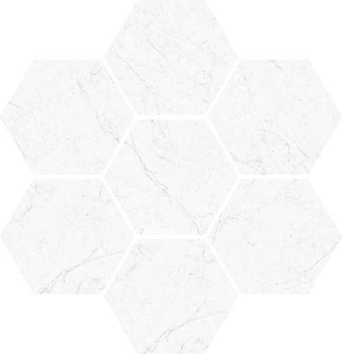 """Carrara 4"""" Esagona (VALCAR4ESA)"""