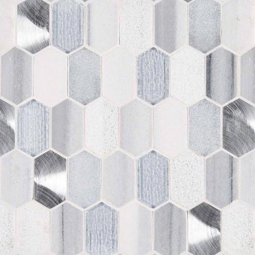 Harlow Picket Patterned Mosaic (SMOT-SGLSMT-HARPK8MM)
