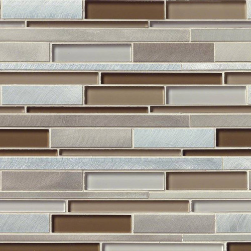 Madison Avenue Interlocking Patterned Mosaic (SMOT-GLSMTIL-MA8MM)