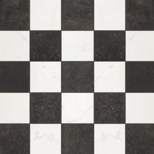 Belgica / Carrara Chess 2x2 Mosaic (BELGMOSCHESS)