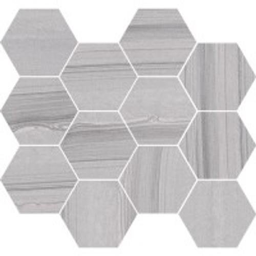 Lakestone Silver 3.25 Hex Mosaic (C36243-HX)