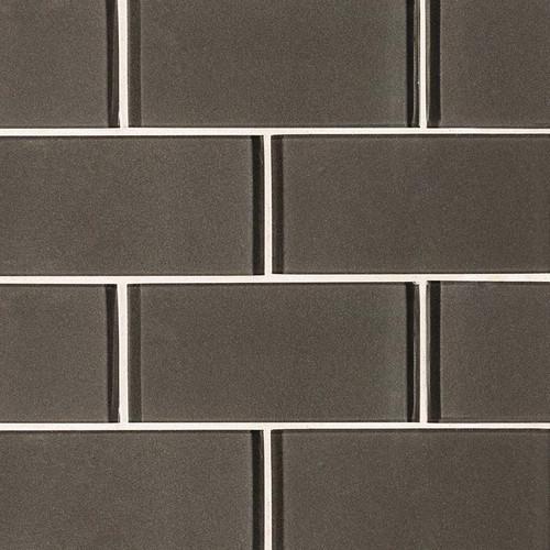 Metallic Gray Subway Tile 3x6 (SMOT-GL-T-MG36)
