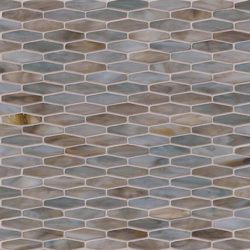Mochachino Hexagon Pattern Mosaic (SMOT-GLSB-MOCHACHINO)