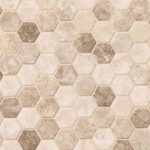 Sandhills Hexagon Mosaic (SMOT-GLS-SAND6MM)