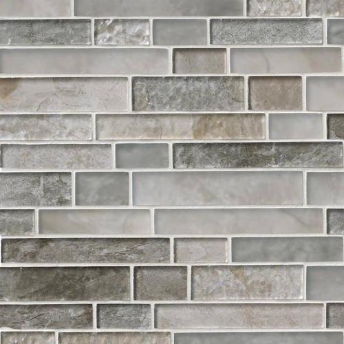 Savoy Interlocking Patterned Mosaic (SMOT-GLSIL-SAVOY8MM)