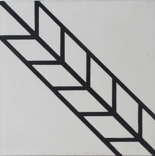 Noga Cement - Spike SH214 Patterned Tile 8x8 (SH214)