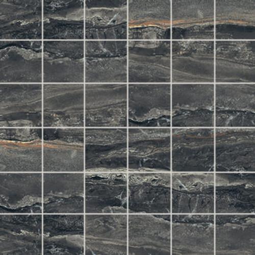 Breccia Noir Polished Mosaic 2X2 (1100554)
