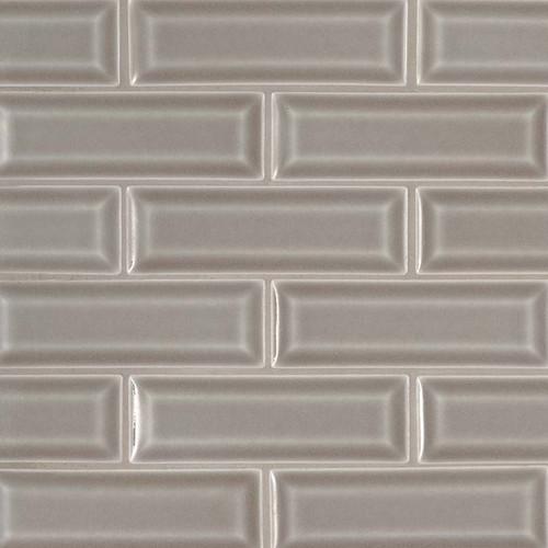 Highland Park Dove Gray 2x6 Beveled Mosaic (SMOT-PT-DG-2X6B)