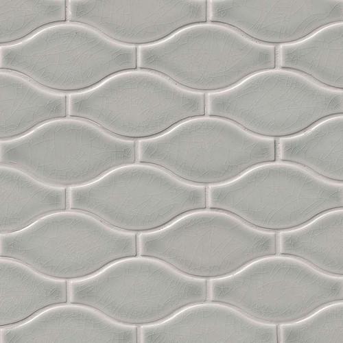 Highland Park Morning Fog Ogee Pattern Mosaic (SMOT-PT-MOFOG-OGEE)