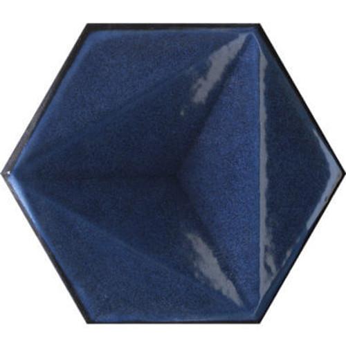 Blu Hexagon 6x7 (CHBLHEX)