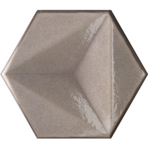 Ecru Hexagon 6x7 (CHECHEX)