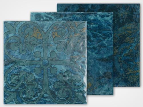 Abyss Series - Atlantis Porcelain Deco 6x6 (AY-621DECO)