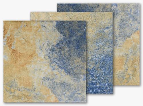 Italian Slate Series - Naples Porcelain Field Tile 6x6 (IS-637)