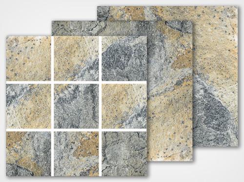 Italian Slate Series - Milan 2x2 Porcelain Mosaic 12x12 (IS-235)