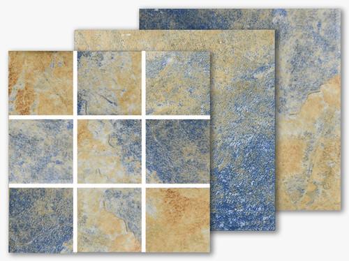 Italian Slate Series - Naples 2x2 Porcelain Mosaic 12x12 (IS-237)