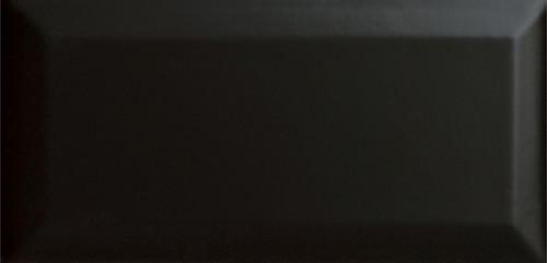 CC Textures Black Bright Beveled 4x10 Wall Tile (U759-410-BV)