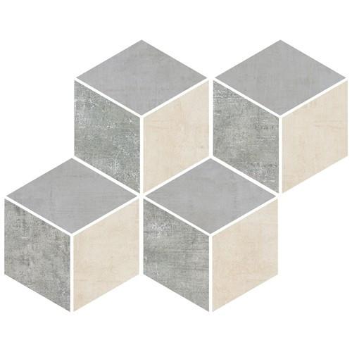 Loft 2.0 Mix Color Cubic Mosaic on 8.6x10 Sheet (ZH6440QQ068HP)