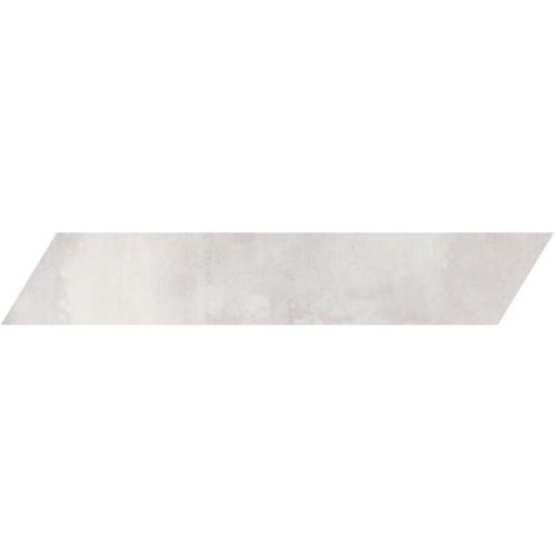 Metal Max 2.0 Light Grey Porcelain Left Chevron 4x24 (HMM10601F-CHL)