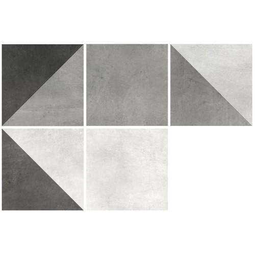 Motif Noir 8x8 Ceramic Tile (MVG718)