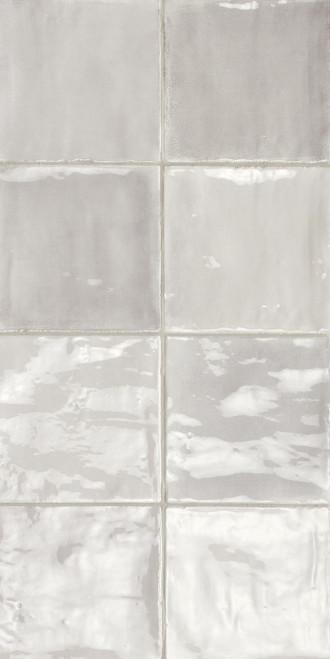 Tsquare Half Moon Glossy Ceramic 6x6 Wall Tile (GSWTTTSW02G)
