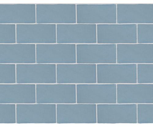 Maritime Folly Blue Glossy Wall Tile 3x6 (MAFB36G)