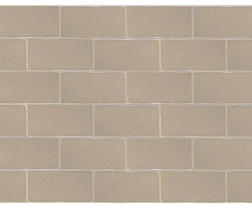 Maritime Hatteras Taupe Glossy Wall Tile 3x6 (MAHT36G)