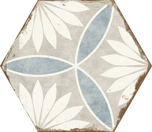 Bohemia Margarita Porcelain Hexagon 8x10 (BOMAHEX810)